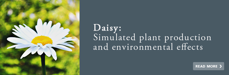 Daisy: Simulated plant production and environmental effects
